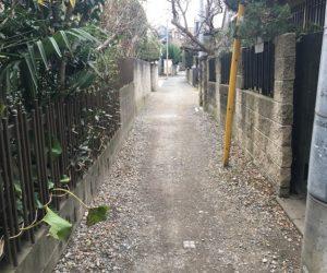 長崎県長崎市青山町における私道の問題について